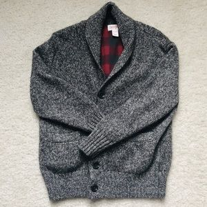 Cat & Jack Sweater Cardigan (boy's XS 4/5)